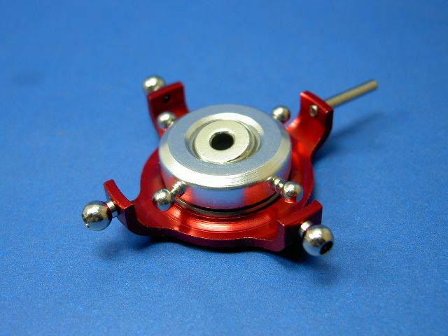 GS3-6205C CNC 90 degree Swashplate (Red 3mm)